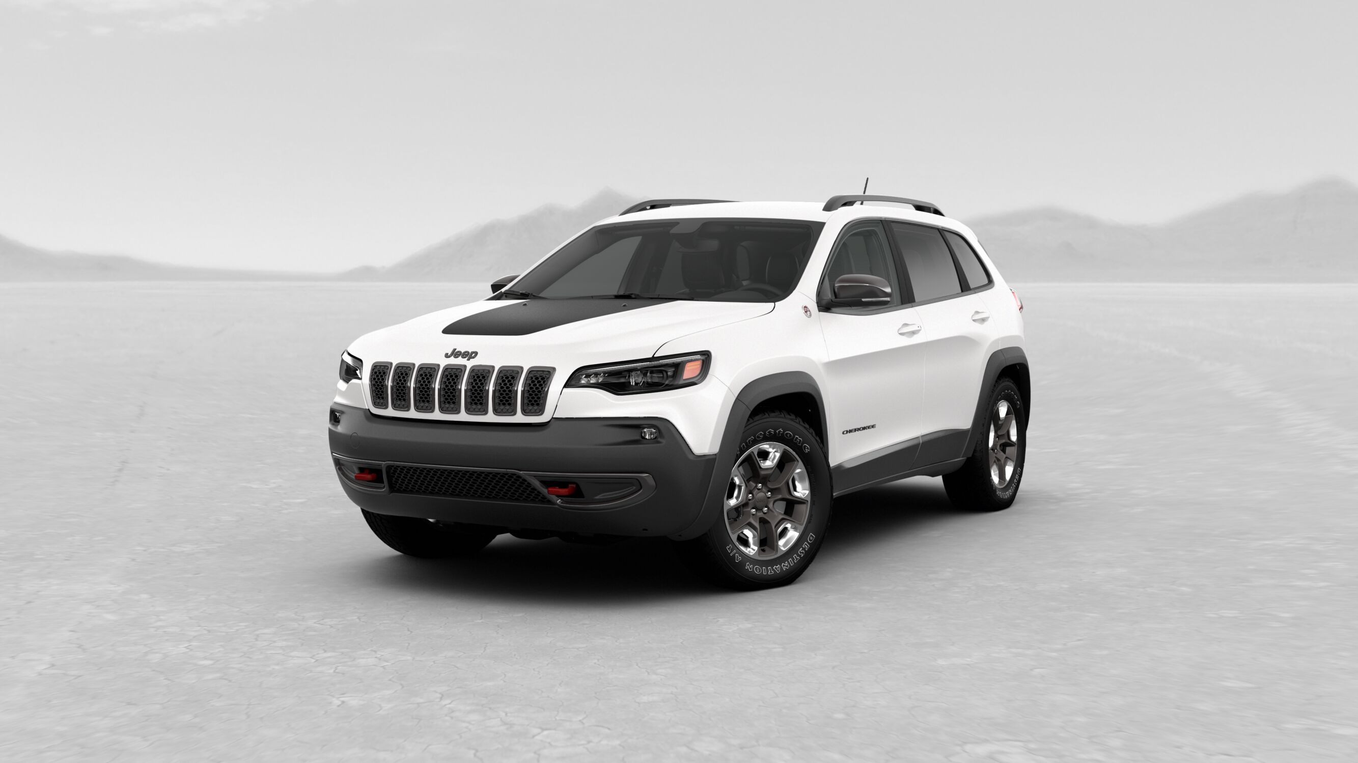 2019 Jeep Cherokee Pearl White Exterior Color o Akins Dodge