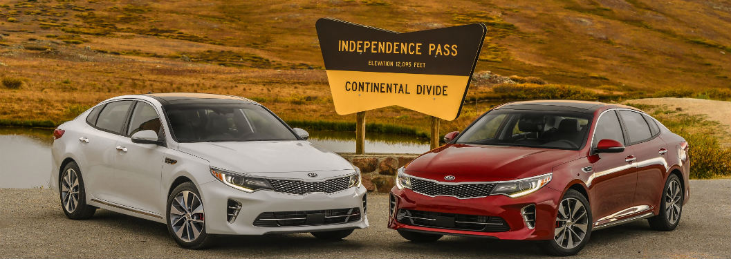 Kia Optima and Kia Sedona 2016 Ideal Vehicle Awards