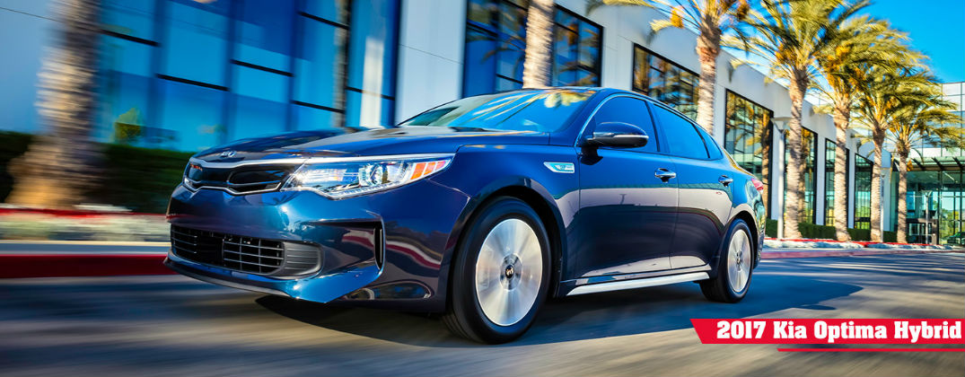 What's New for the 2017 Kia Optima Hybrid?