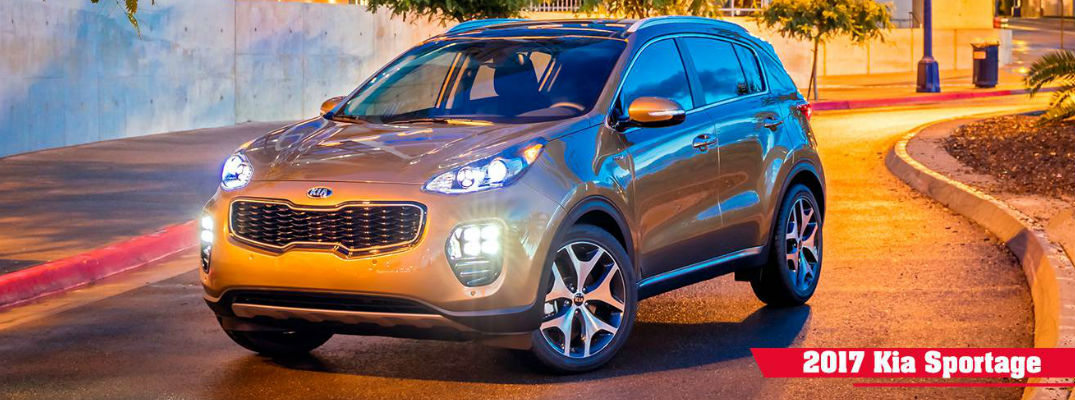 Features and Specifications of the 2017 Kia Sportage Trim Levels