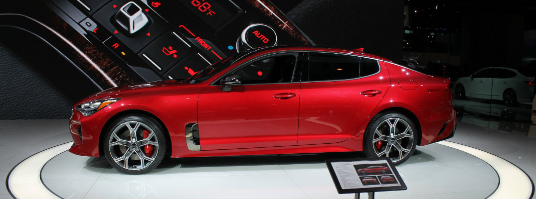 Kia Stinger Exclusive Images From Chicago Auto Show - Car show chicago today