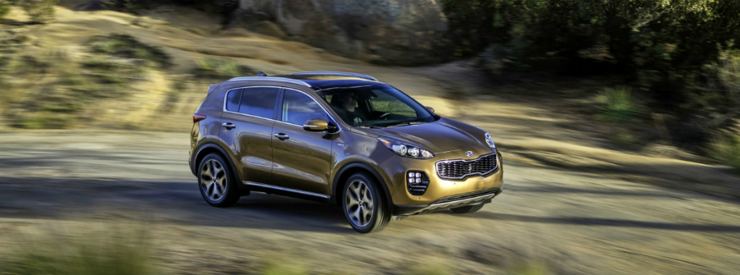 2018 Sportage Off-Road Driving