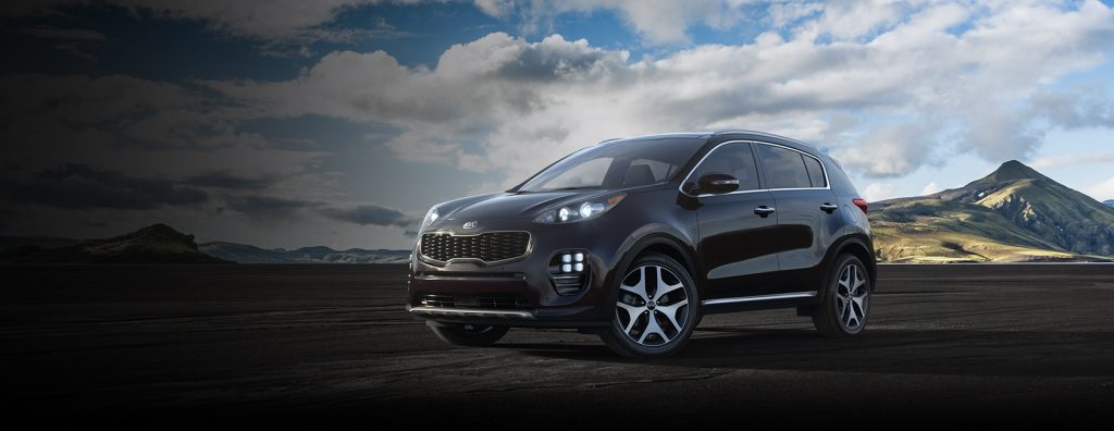 2019 Kia Sportage in Black Cherry
