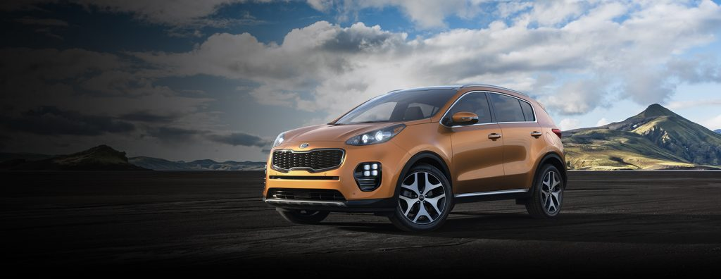 2019 Kia Sportage in Burnished Copper