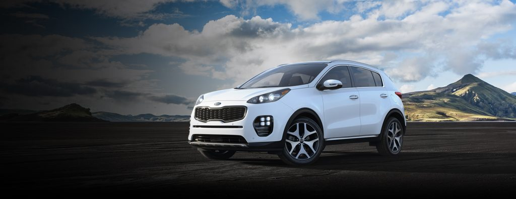 2019 Kia Sportage in Snow White Pearl