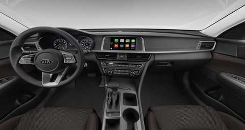 Kia Optima Interior >> 2019 Kia Optima Brown Cloth Interior Color Option O Kia Of