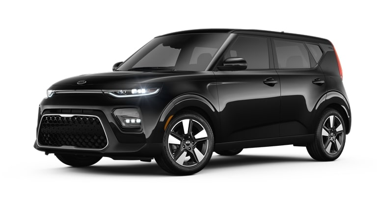 2020 Kia Soul Cherry Black Exterior Color Option