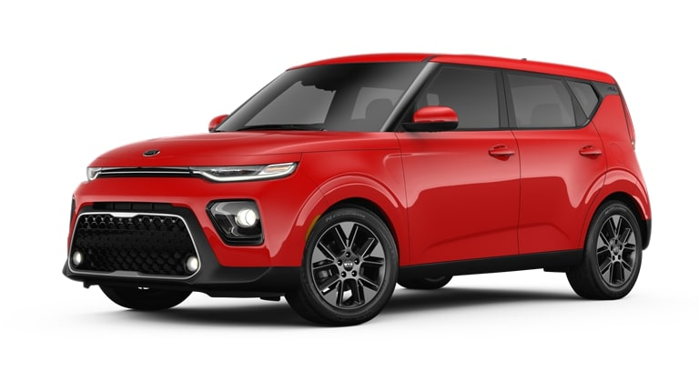 2020 Kia Soul Inferno Red Exterior Color Option