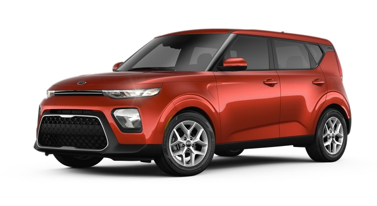2020 Kia Soul Mars Orange Exterior Color Option