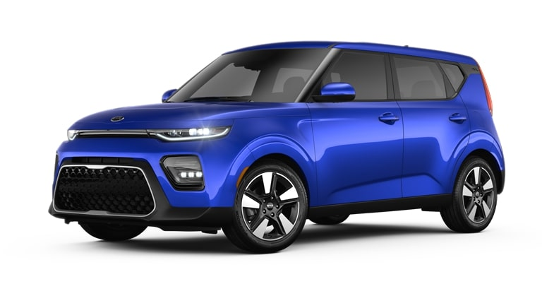 2020 Kia Soul Neptune Blue Exterior Color Option