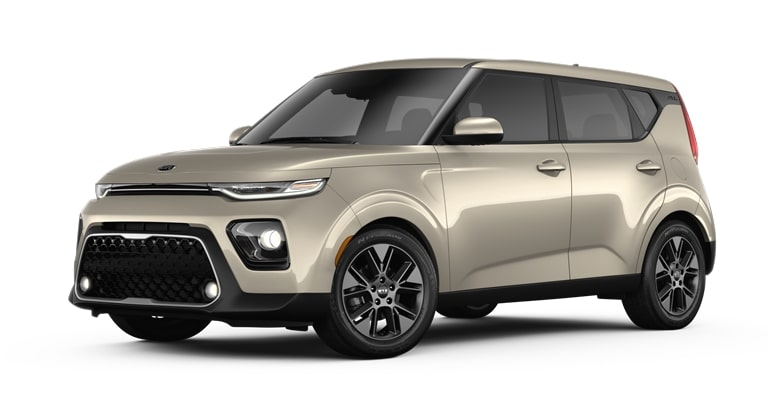 2020 Kia Soul Platinum Gold Exterior Color Option