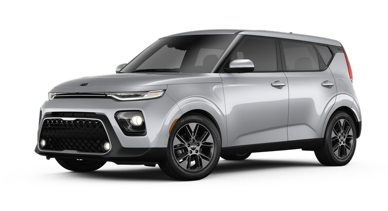 2020 Kia Soul Sparkling Silver Exterior Color Option
