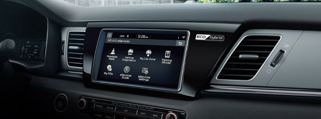 What are UVO eServices on Kia Vehicles?