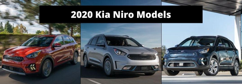 2020 Kia Niro Models banner