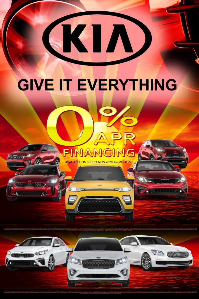 Kia of Irvine Trade Up to a Kia Summer Sales Event poster