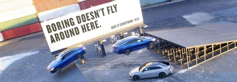 2021 Kia K5 Triple Threat Stunt banner image