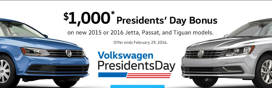 Presidents Day deals on Volkswagen in Lincoln, NE
