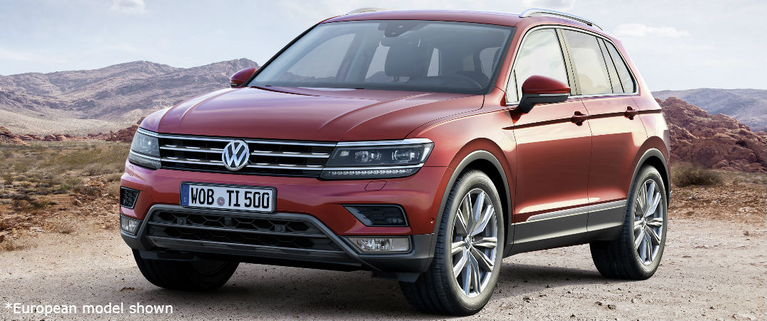 2017 VW Tiguan European model