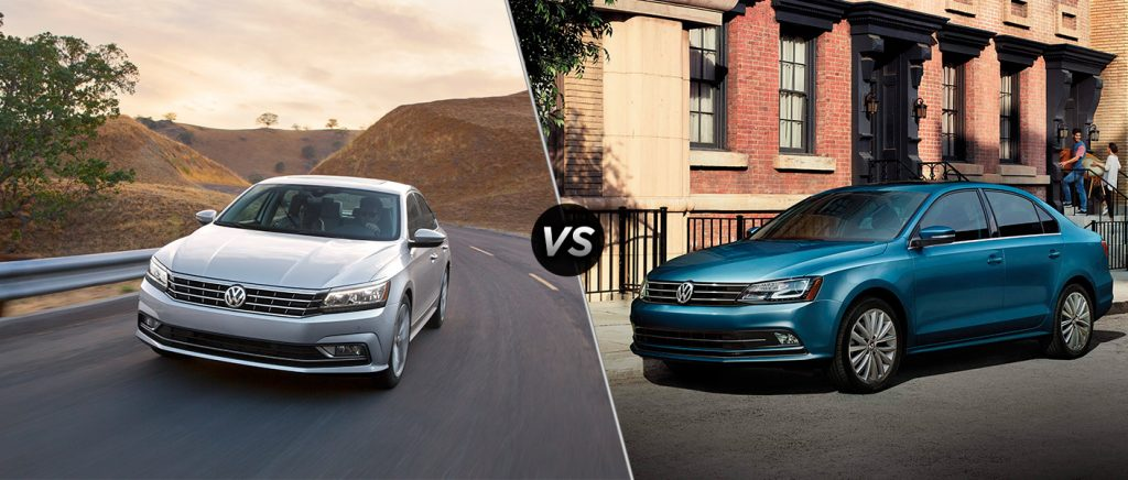 difference   volkswagen jetta   passat