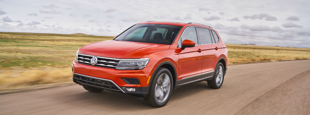 changes and upgrades for the 2018 Volkswagen Tiguan