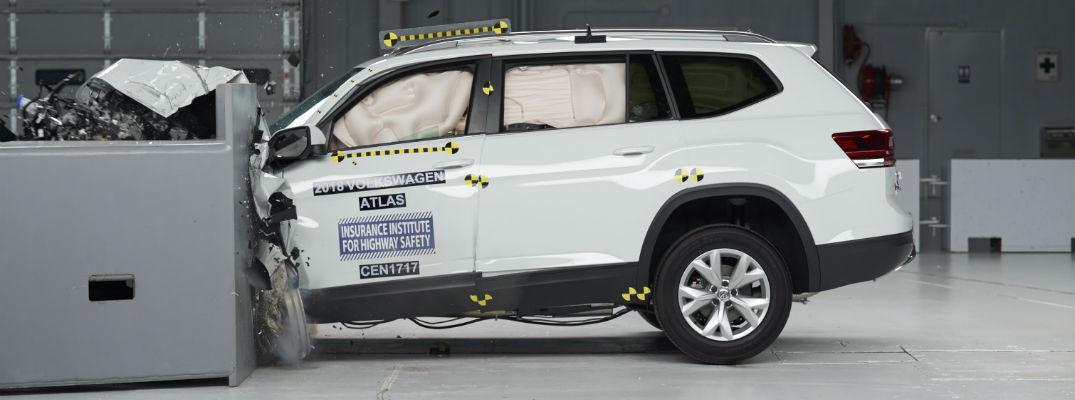 IIHS safety scores for the 2018 Volkswagen Atlas