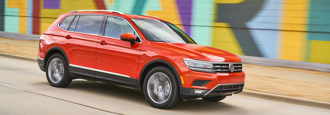 2018 Volkswagen Tiguan Available Packages and Pricing