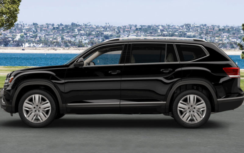 2018 Volkswagen Atlas Interior And Exterior Color Options
