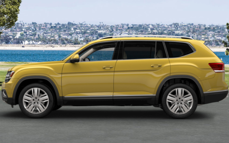 2018 Volkswagen Atlas Interior and Exterior Color Options