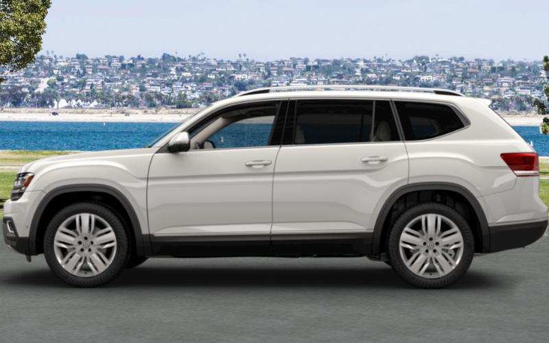 Vw Atlas Golden Oak Interior 2017 2018 2019 Volkswagen Reviews