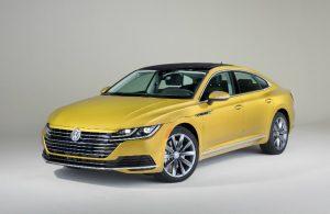 2019 Volkswagen Arteon exterior in bold yellow