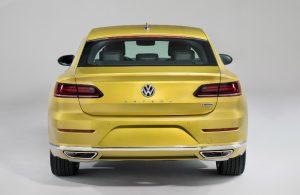 2019 Volkswagen Arteon rear exterior and badging