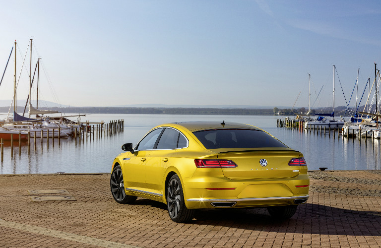 2019 Volkswagen Arteon with R-Line package rear exterior