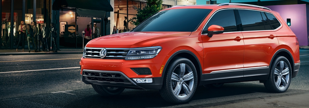 full view of 2018 Tiguan