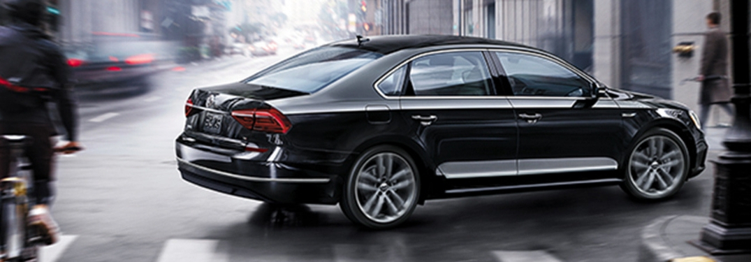 What are the safety features of the 2019 Volkswagen Passat?