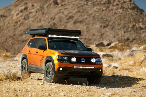 2019 VW Atlas Adventure concept
