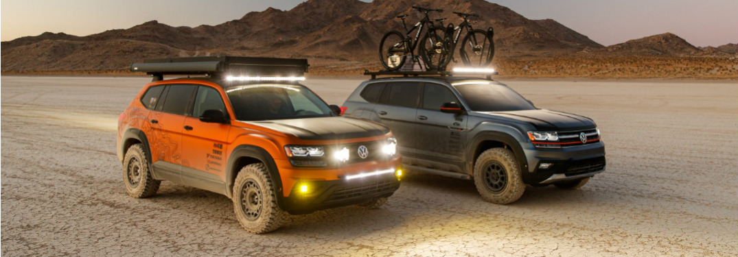 Overland-equipped VW Atlas at SEMA 2019