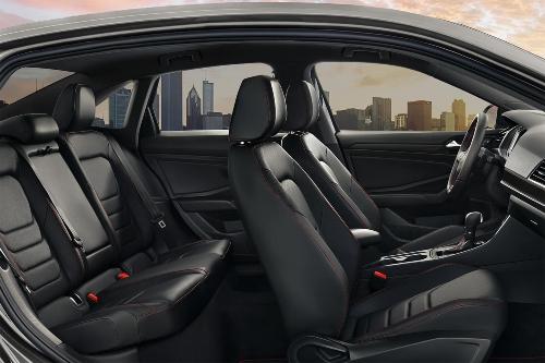 2019 Jetta GLI leather seats