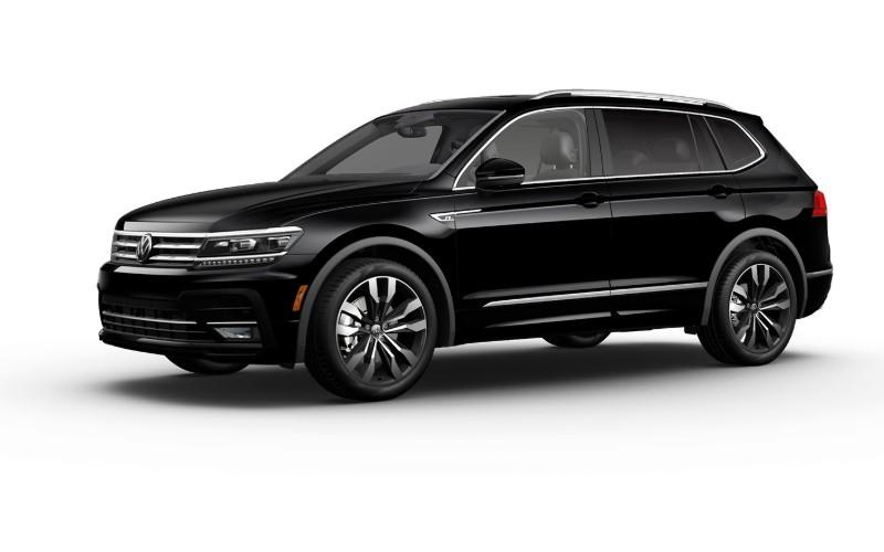 2020 VW Tiguan Deep Black Pearl