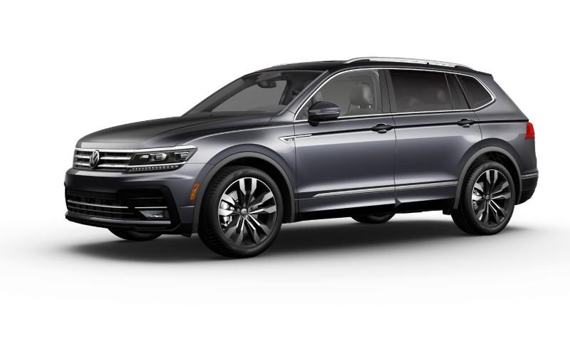 2020 VW Tiguan Platinum Gray Metallic