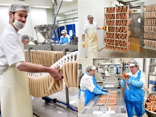 Currywurst production wolfsburg plant