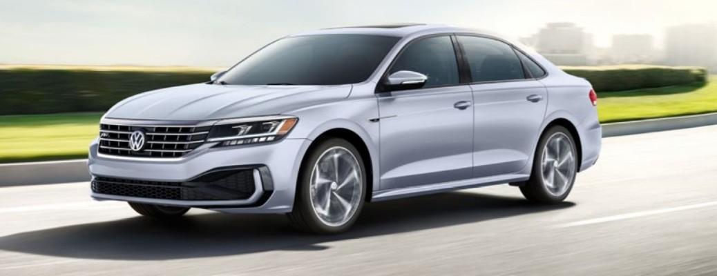 2020 Volkswagen Passat driving down road