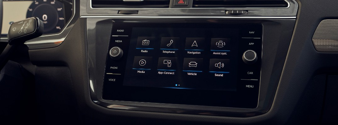 You can now easily wirelessly connect your smartphone to the VW infotainment system.