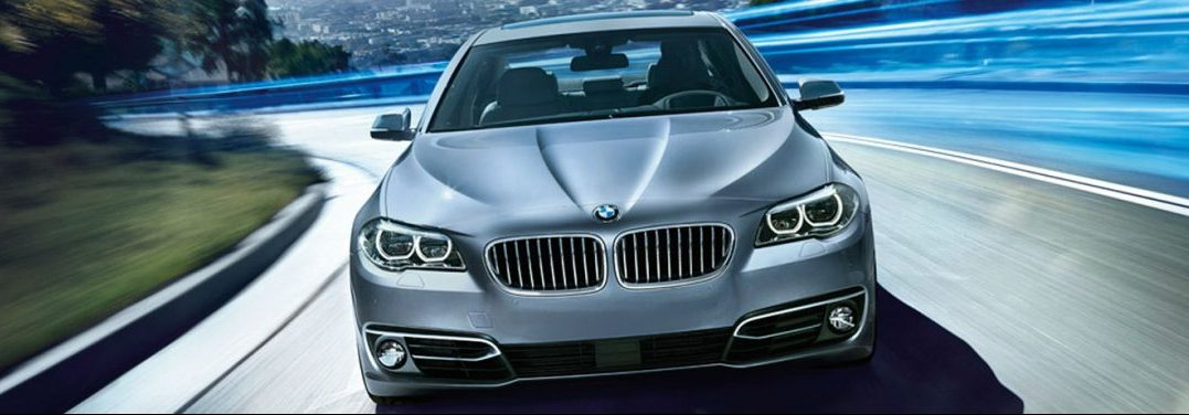 front fascia of the 2015 BMW 5 Series