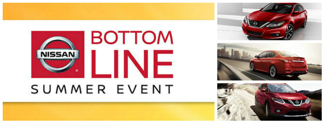 nissan bottome line summer sales event
