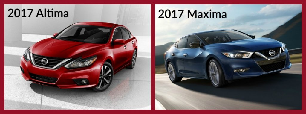 Difference Between the Nissan Altima and Maxima