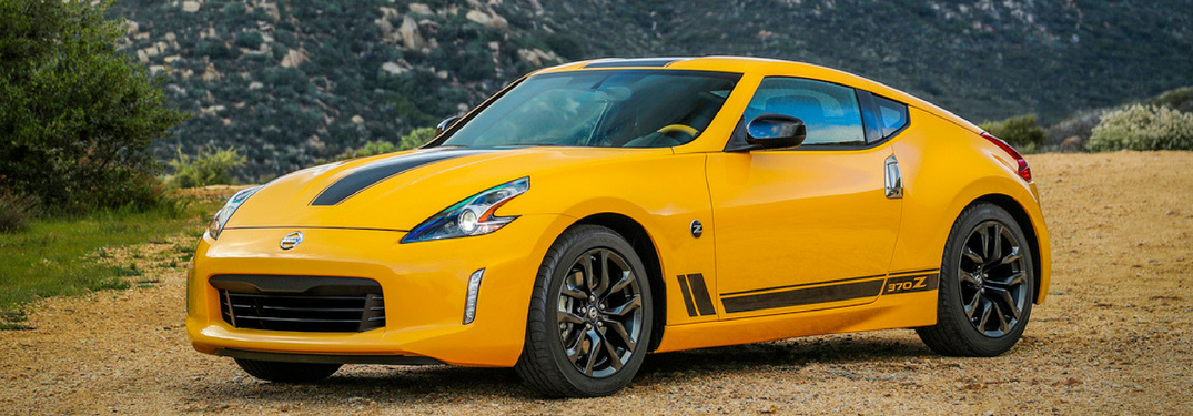 2018 Nissan 370Z in yellow