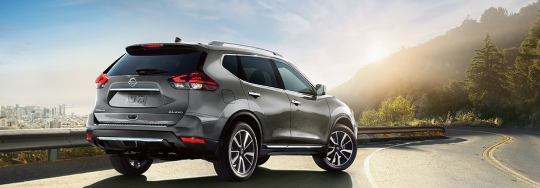 2018 Nissan Rogue in Gray