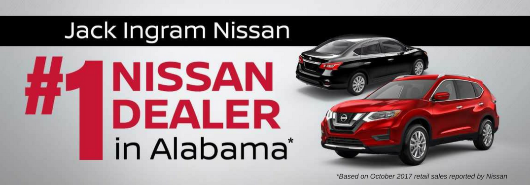 Jack Ingram Nissan named highest-volume Nissan dealer in Alabama