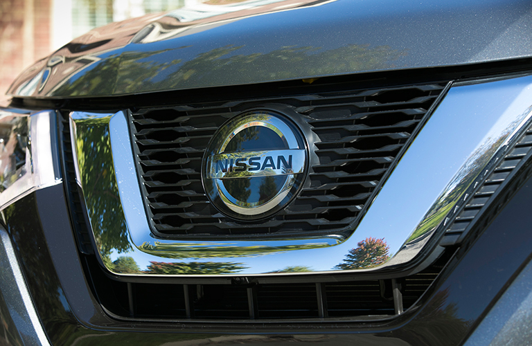 2018 Nissan Rogue Grille Closeup