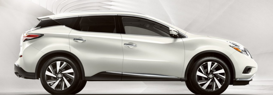 2018 Nissan Murano in white